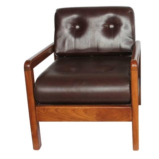 1980's Vintage Milo Baughman for Thayer Coggin Lounge Chair For Sale