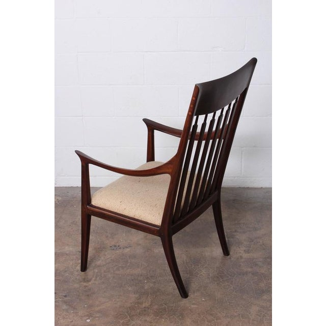 Walnut Craft Armchair by John Nyquist - Image 5 of 10