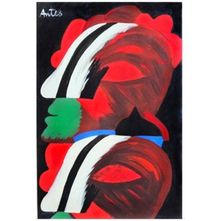 Ohne Titel (1965) by Horst Antes