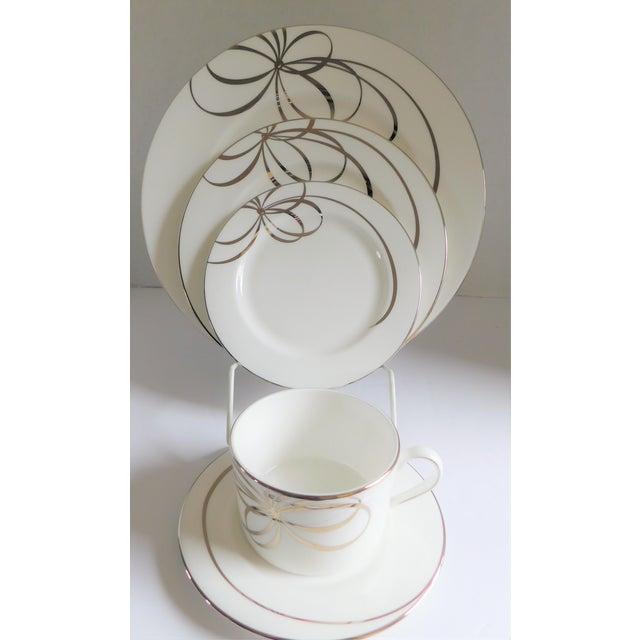 40 Piece Set - Kate Spade Lenox Belle Boulevard Porcelain Dinnerware -Service for 8 For Sale - Image 13 of 13