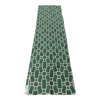Woodbridge Furniture Kelly Green Lattice Window Panels - 2 Pieces For Sale