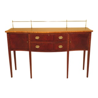 Ethan Allen Federal Mahogany Sideboard For Sale