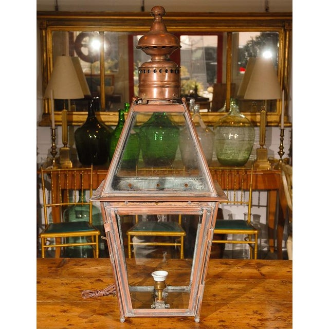 Victorian Gas Lamp as a Table Lamp For Sale In Los Angeles - Image 6 of 7