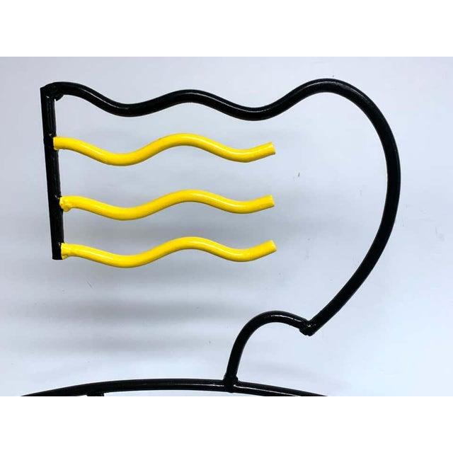 "Modern Enamelled Iron ""Sunbather"" Sculpture For Sale - Image 12 of 13"