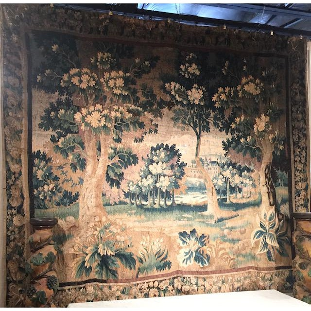 Circa 1760 Aubusson Tapestry For Sale - Image 4 of 10