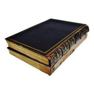 Antique 1896 Antonio Allegri Da Correggio Illustrated Books - 2 Volumes For Sale