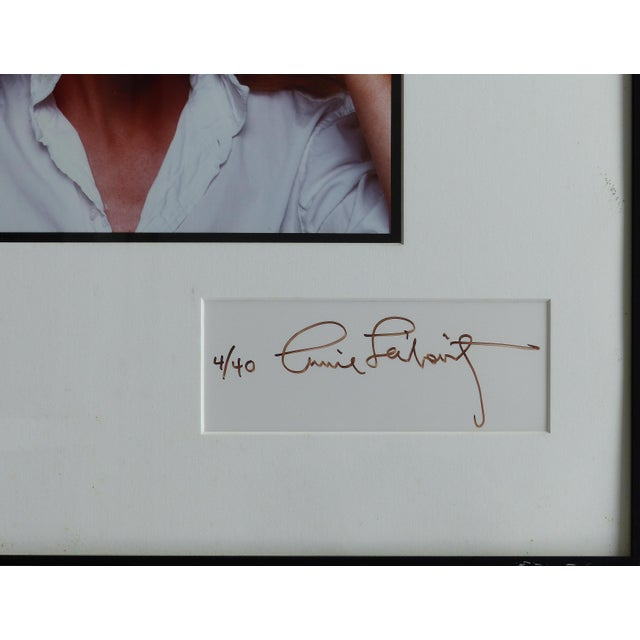 1981 Annie Leibovitz Photograph of Meryl Streep,Signed by Both, Numbered 4/40 For Sale - Image 4 of 11