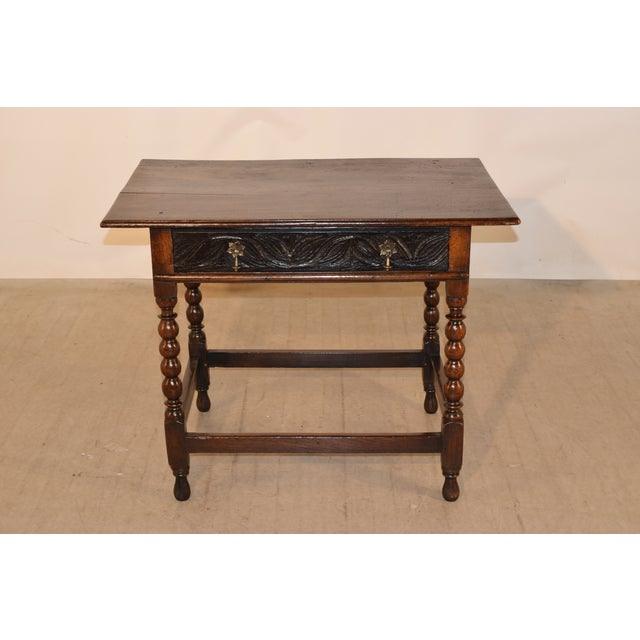 18th Century English Side Table For Sale In Greensboro - Image 6 of 10
