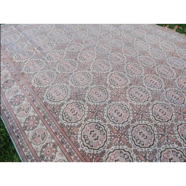 Textile Vintage Kayseri Rug - 6'5'' X 9'11'' For Sale - Image 7 of 13