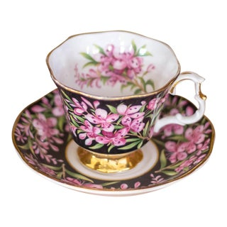 Royal Albert Provincial Flowers Tea Cup and Saucer Set