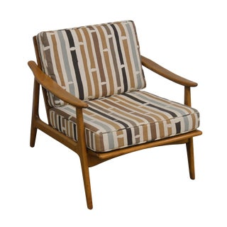 Danish Modern Mid Century Lounge Chair For Sale