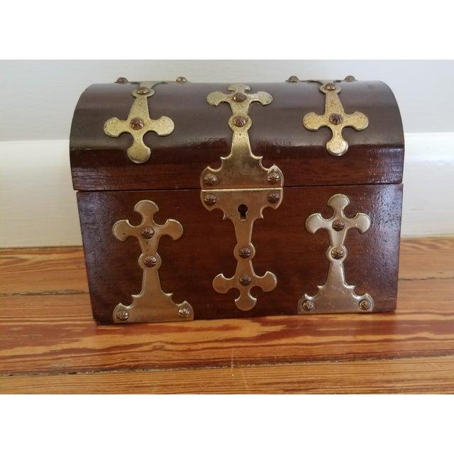 Spanish Brass Detail Music Box - Image 4 of 4