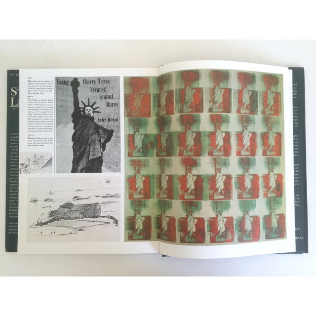 "Americana "" Statue of Liberty the 1st 100 Years "" Vintage 1985 Architecture Heritage Large Collector Book For Sale - Image 3 of 11"