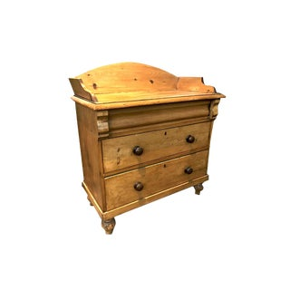 English Antique Pine Chest of Drawers For Sale