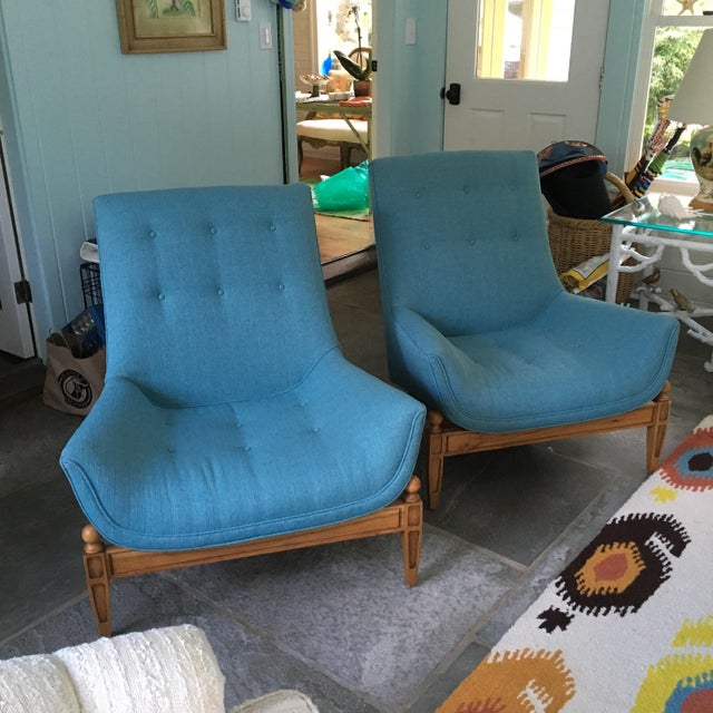 Mid-Century Gondola Chairs - A Pair - Image 2 of 6