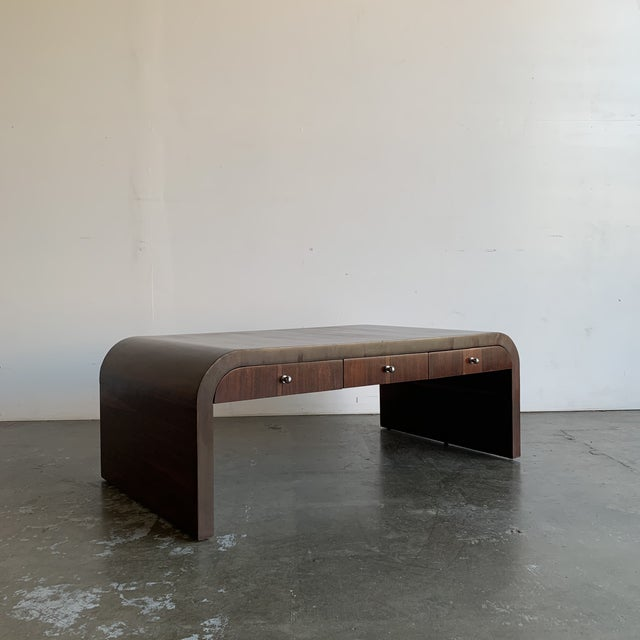 Low Profile Art Deco Coffee Table For Sale - Image 4 of 13