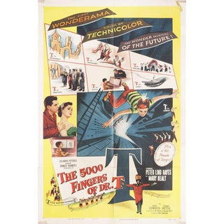 The 5,000 Fingers of Dr. T. 1953 U.S. One Sheet Film Poster For Sale