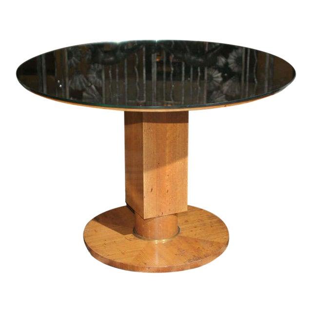 Fine Art Deco Coffee Table by Jules Leleu For Sale