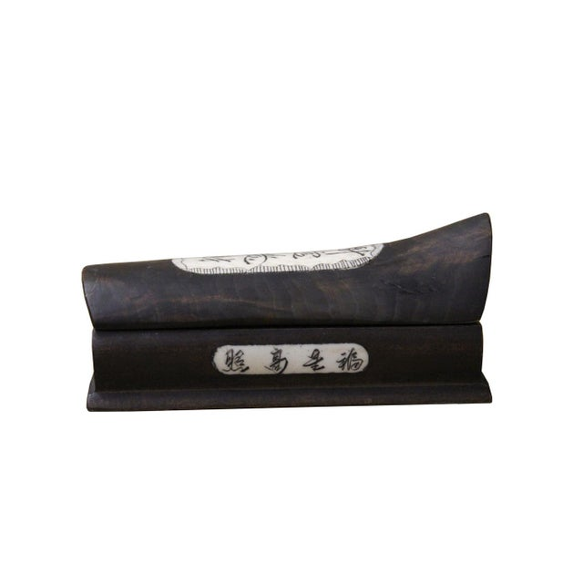 Asian Chinese Feng Shui Good Luck Display Coffin Casket For Sale - Image 3 of 3