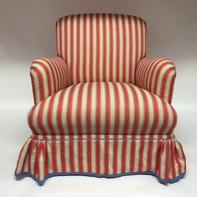 Diamond Baratta Striped Lounge Chair - Image 3 of 6