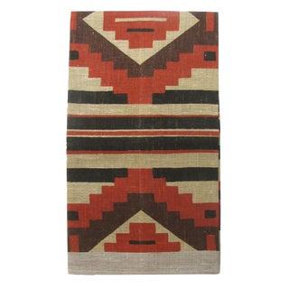 Vintage Southwestern Linen Tea Towel For Sale