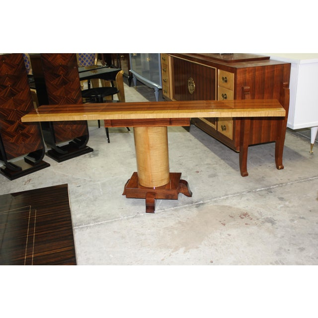 French Art Deco Console Tables - A Pair - Image 7 of 10