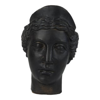 Head of Aphrodite Plaster Bust For Sale