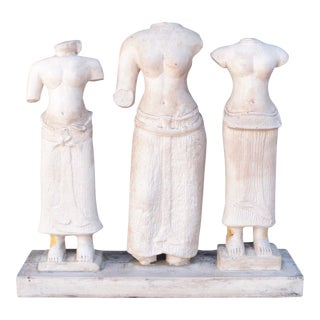 Vintage Attila's Original Reproduction of Artist Statues For Sale