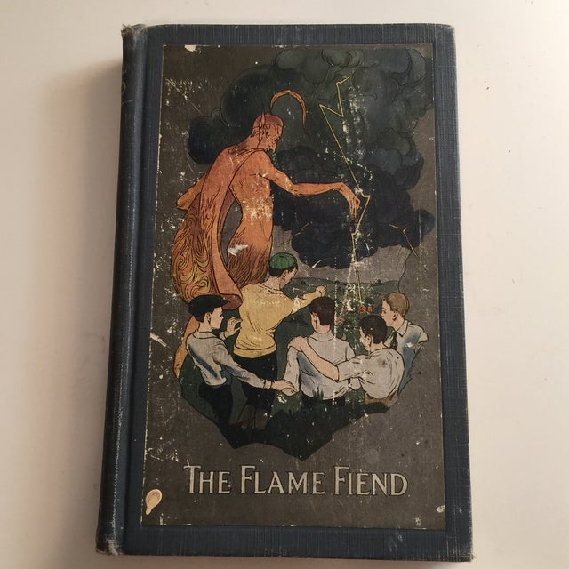 A Textbook on Fire Prevention. New York: Allyn and Bacon, 1921. Hardcover with wonderful tipped in illustration on cover....