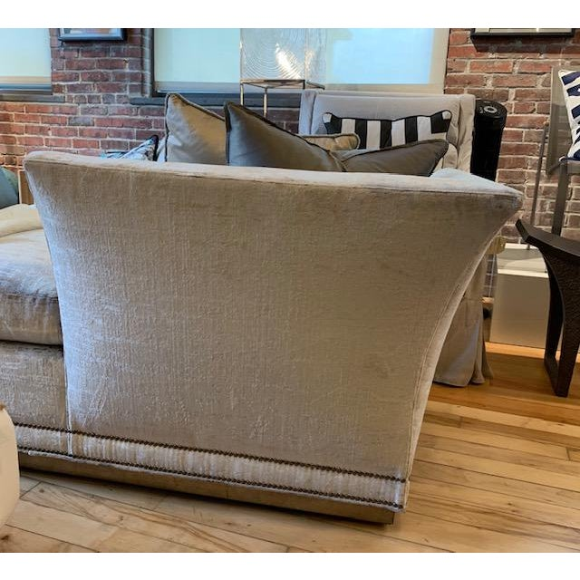 Art Deco Modern Millington Vanguard Furniture Chaise For Sale - Image 3 of 7