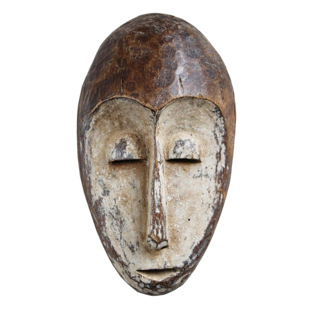 Lega Tribal Wood Mask For Sale
