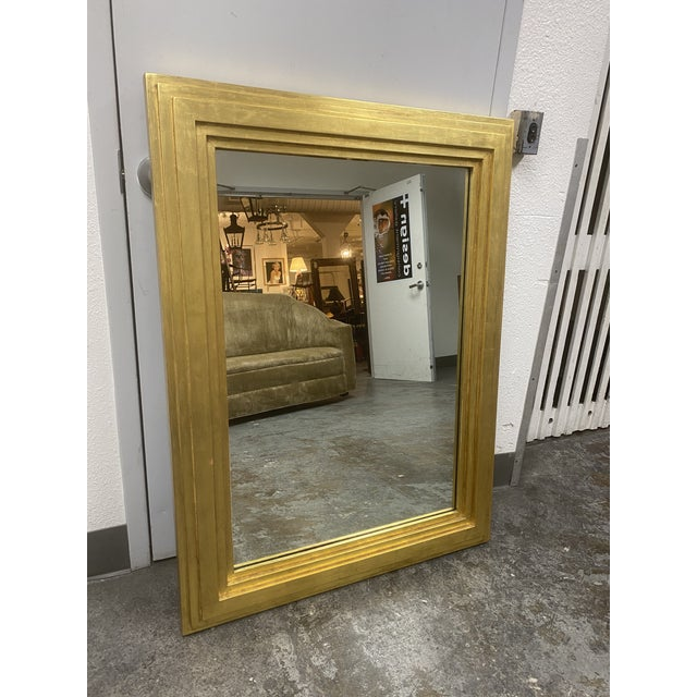 Contemporary City C Studio Custom Gold Gilt Tiered Framed Mirror For Sale - Image 3 of 10