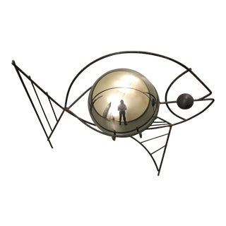 Frederick Weinberg Style Fish Wire Sculpture