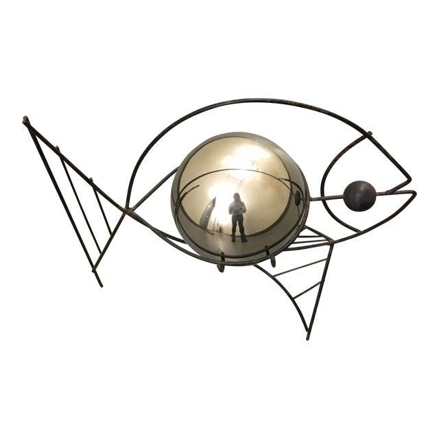 Frederick Weinberg Style Fish Wire Sculpture | Chairish