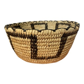 Papago American Indian Basket For Sale