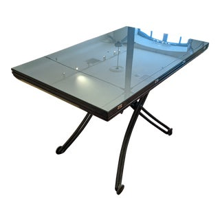 Modern Adjustable Coffee & Dining Table For Sale