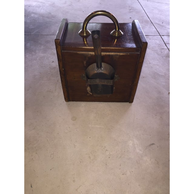 Mahogany Coal Bin For Sale In New York - Image 6 of 6