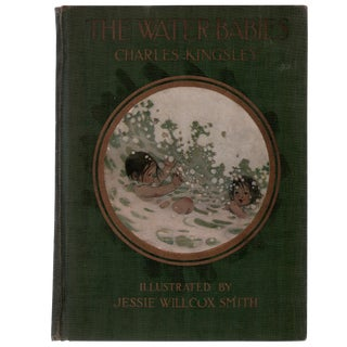 "1916 ""The Water-Babies, Illustrated by Jesse Wilcox Smith"" Coffee Table Book For Sale"