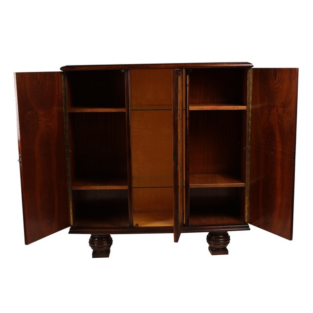 1930s French Deco Vitrine Cabinet - Image 2 of 7