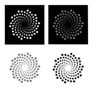 Chuck Krause Spirals—4 Artworks—original three dimensional geometric design wall reliefs 2020 For Sale
