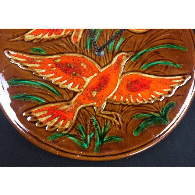1970s 1970s French Glazed Ceramic Serving Dish For Sale - Image 5 of 7