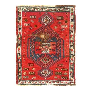 Antique Turkish Pasargad Oushak Rug - 2′× 2′7″ For Sale
