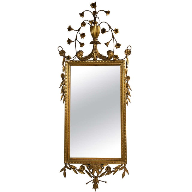 Italian Giltwood Mirror For Sale - Image 9 of 9