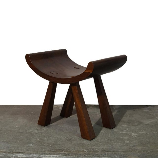 Brown Butterfly Stool For Sale - Image 8 of 8