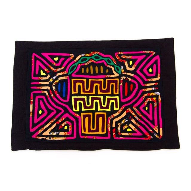 Handsewn Panamanian Mola Pillowcase For Sale