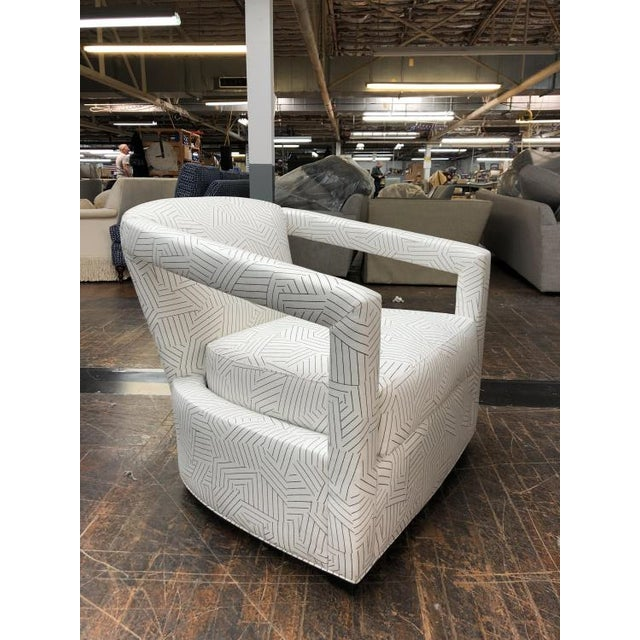 Transitional Century Furniture Calla Chair For Sale - Image 3 of 5