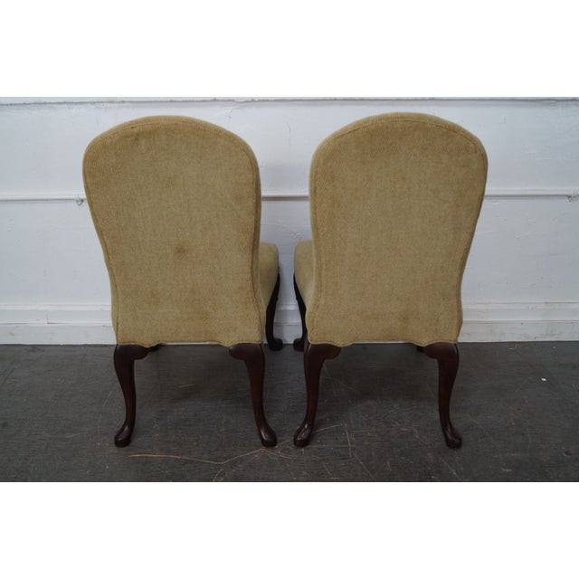 Ferguson Copeland Ferguson Copeland Queen Anne Side Chairs - Set of 4 For Sale - Image 4 of 10
