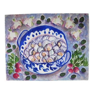 Still Life Water Color Painting For Sale