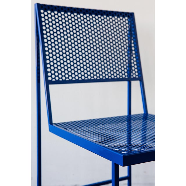 Not Yet Made - Made To Order Flux Dining Chair in Black Oxide by The Foreman Brothers For Sale - Image 5 of 7