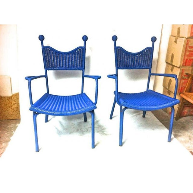 Plastic Jean Royere Unique, Documented Personal Armchair From His House in Brittany For Sale - Image 7 of 7